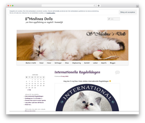 Free WordPress TablePress plugin - medinasdolls.se