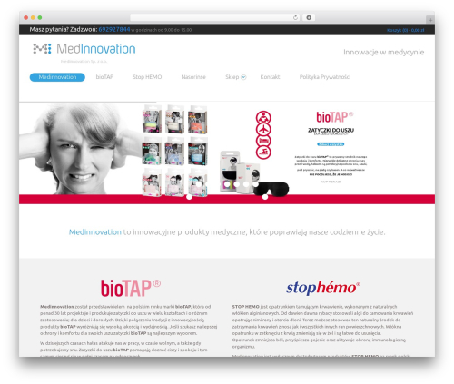 WordPress template Do.Biz - medinnovation.pl