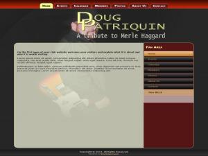 WordPress template Doug