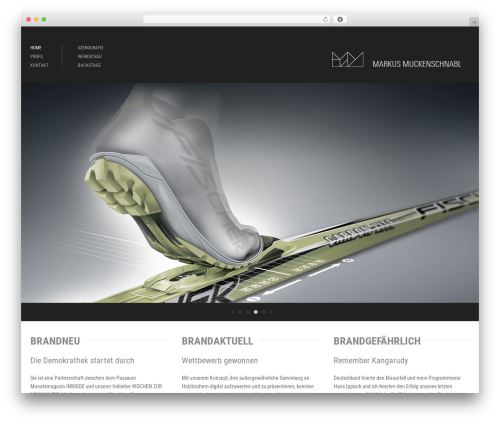 WordPress theme Architecture - markusmuckenschnabl.de