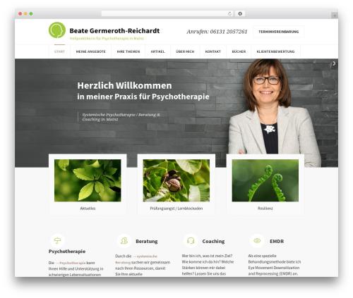 WordPress theme Psychology Help - mainz-psychotherapie.de