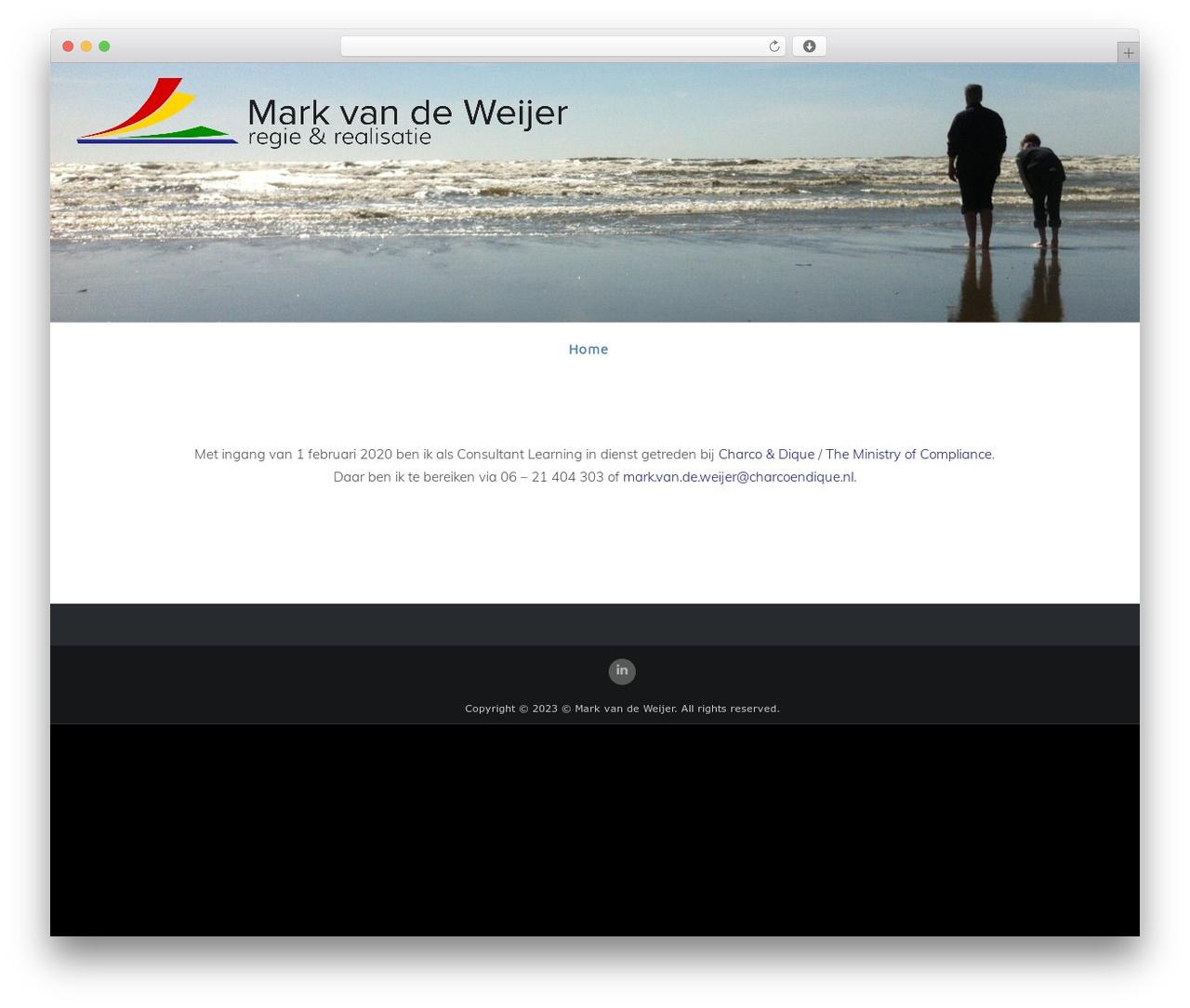 WP theme Celestial - markvandeweijer.nl