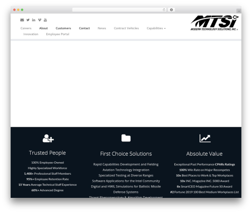 Best WordPress theme Customizr Pro - mtsi-va.com