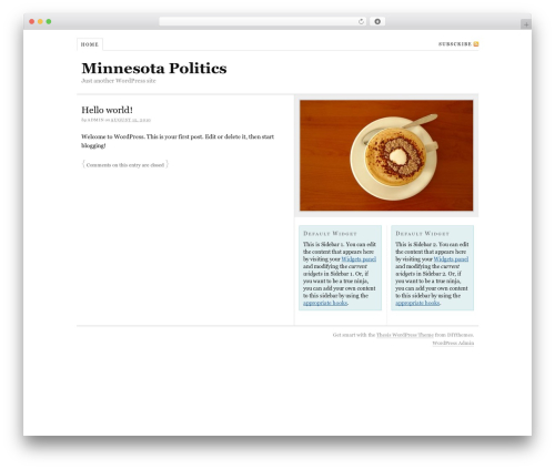 Best WordPress theme Thesis - mn-politics.com