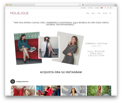 Enfold theme WordPress - moijejouefirenze.it