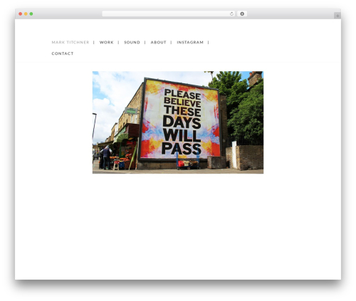Grid Based Responsive WordPress Theme WordPress theme - marktitchner.com