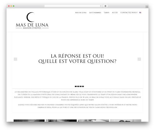 Hathor Pro WP template - masdeluna.com