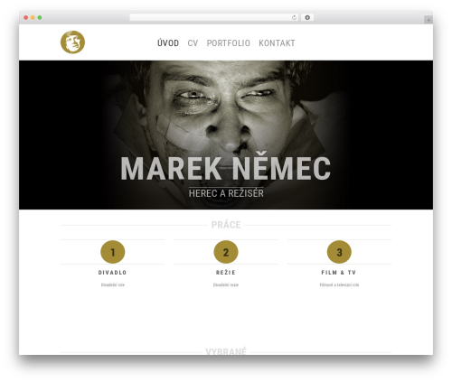Hero theme WordPress - mareknemec.com