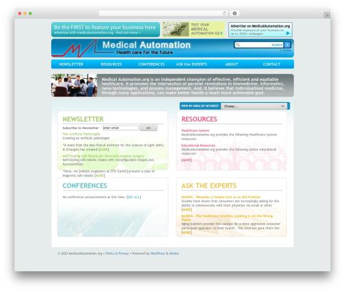 Mimbo medical WordPress theme - medicalautomation.org