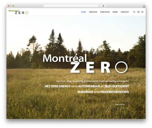 Movedo premium WordPress theme - montrealzero.com