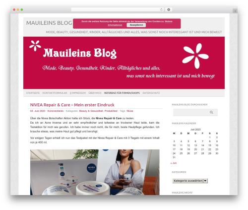 picolight WP theme - mauilein.de