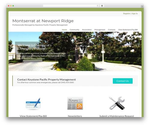 Spacious Pro WP template - montserrathoa.com