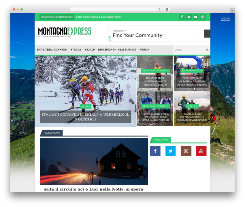 Template WordPress Lineza - montagnaexpress.it