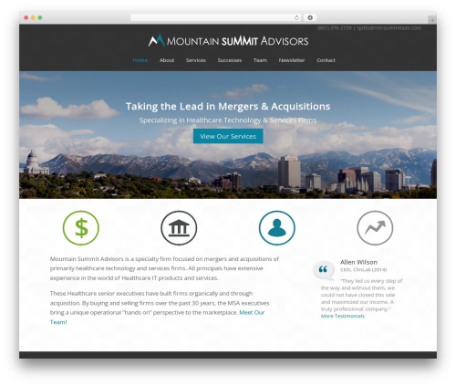 Theme WordPress Headway Base - mtnsummitadv.com