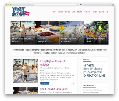 Free WordPress Meks Smart Social Widget plugin - masesgardenblogg.se