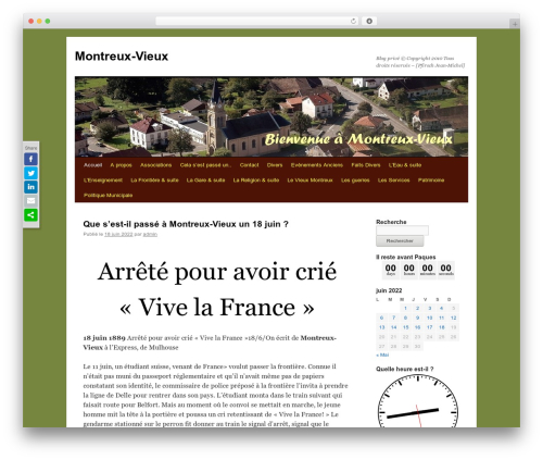 Free WordPress SlickQuiz plugin - montreux-vieux.net