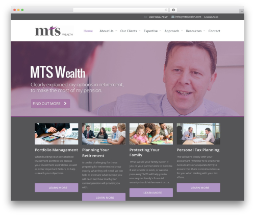 Volts - WordPress Theme WP template - mtswealth.com