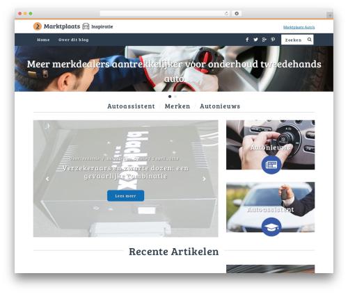 WordPress template SimpleMag - marktplaatsautojournaal.nl