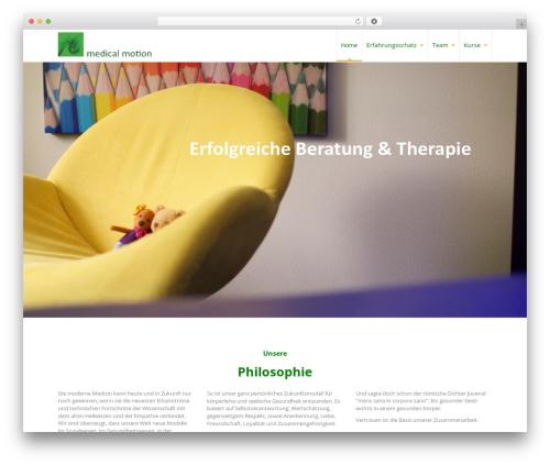WordPress theme Pro Business - medical-motion.ch