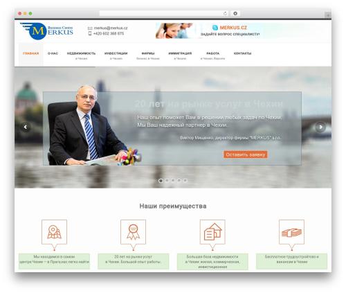 WordPress theme Splendor - merkus.cz