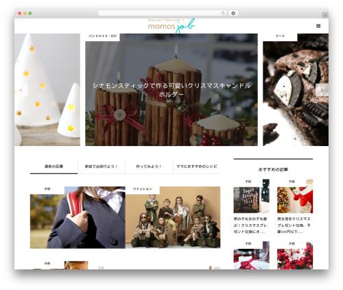 Bloom template WordPress - mamajob.biz