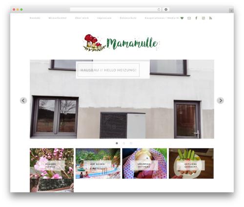 Elle WordPress blog template - mamamulle.de