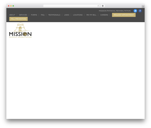 Generic template WordPress free - missionphysicalrehabilitation.com
