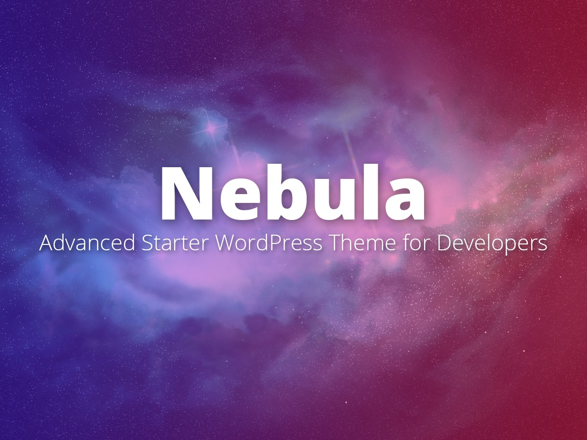 Nebula best WordPress theme