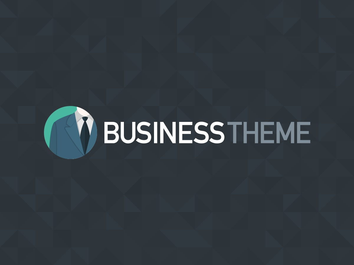 Organic Business company WordPress theme