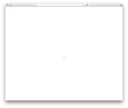 Salient WordPress theme - mrricks.com