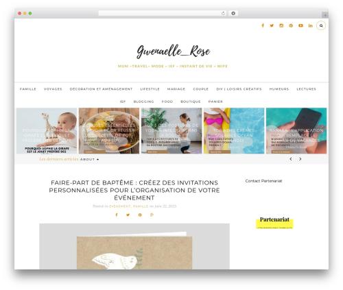 The Tea Cup WordPress blog theme - mamanpouponne-papabricole.fr