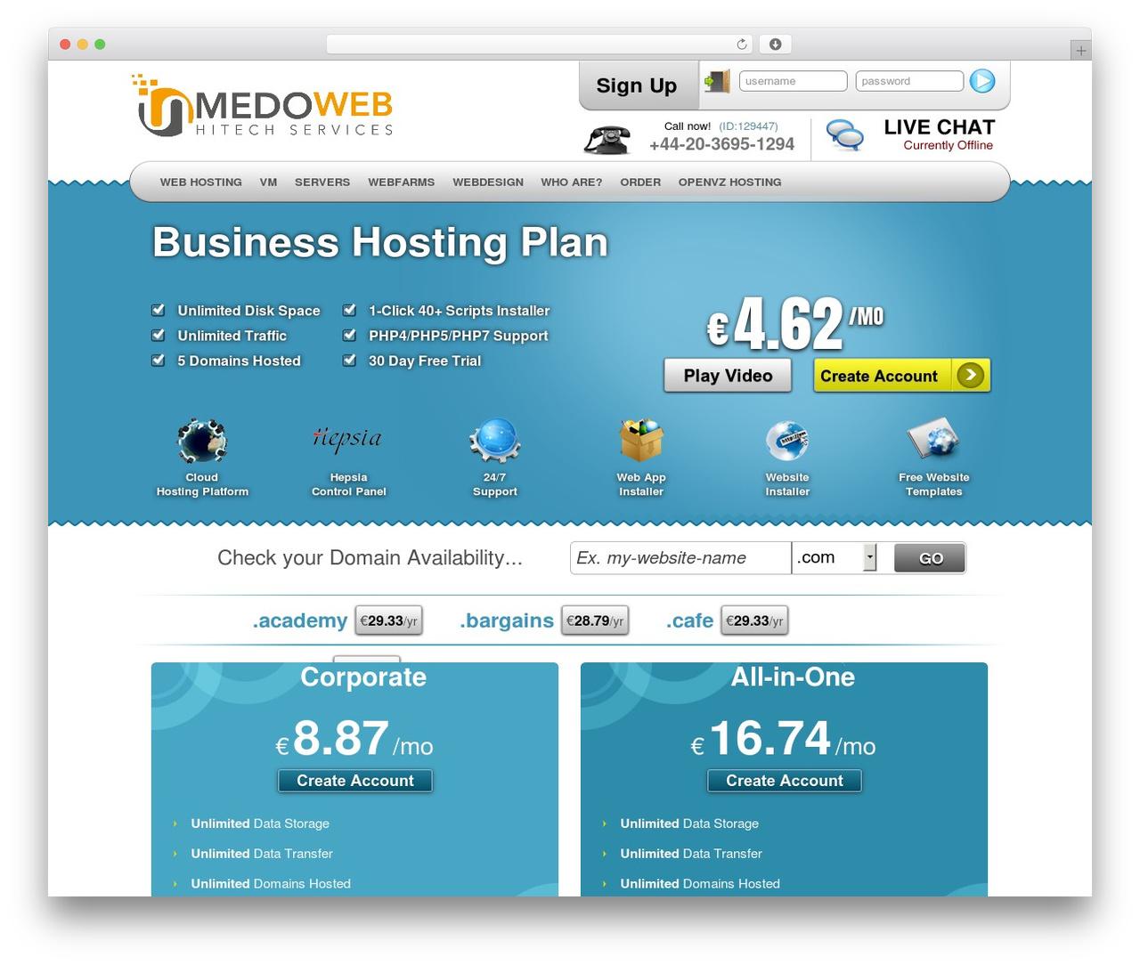 Theme WordPress Simply Elegant - medoweb.org