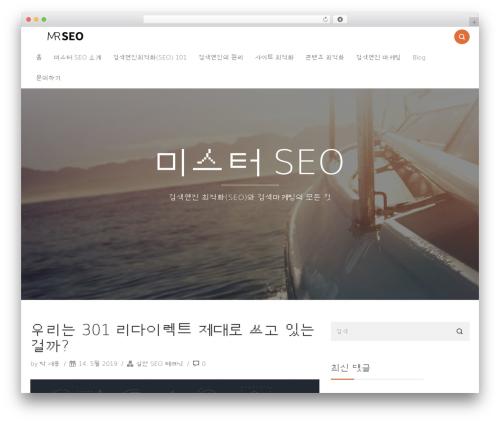 Theme WordPress Smallblog - mrseo.co.kr