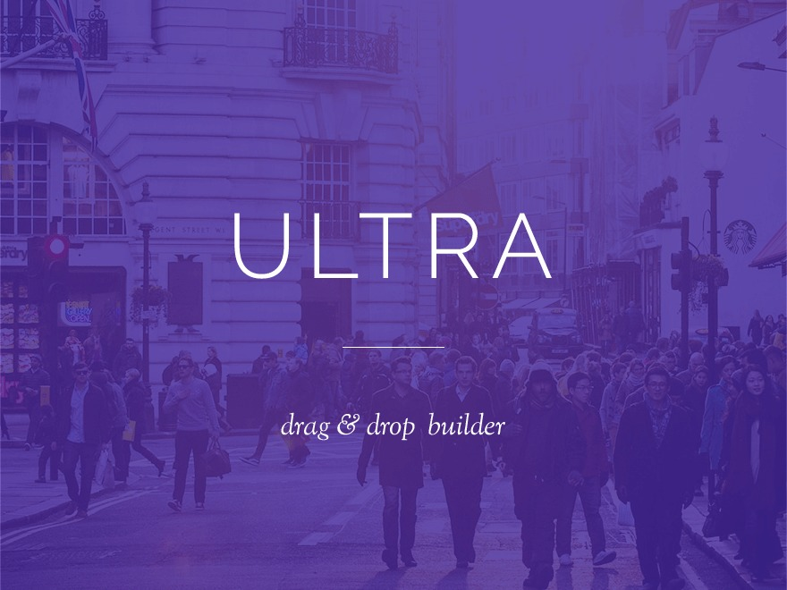 Ultra WP theme