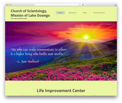 WP theme embr - missionoflakeoswego.org