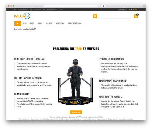 Best WordPress theme BuyShop - muev360.com