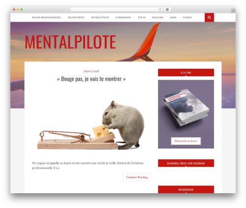 Bulan template WordPress free - mentalpilote.com