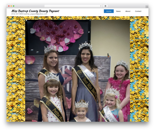 GeneratePress theme WordPress - missbastropcountybeautypageant.com