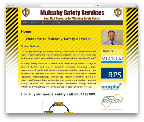 Gridiculous free WordPress theme - mulcahysafetyservices.com