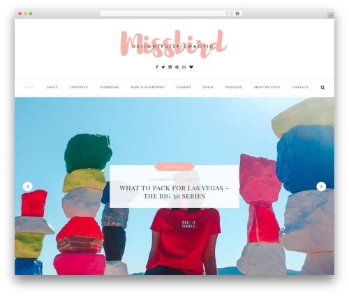 Free WordPress MailChimp for WordPress plugin - missbird.co.uk