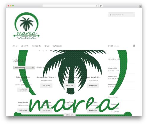 Free WordPress Contact Widgets plugin - mareaverde.com.mx