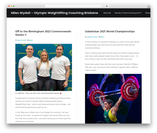 WordPress uncode-core plugin - mwydall.com