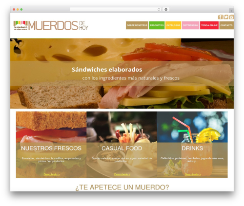 WordPress theme Healthy Farm - muerdosdehoy.com