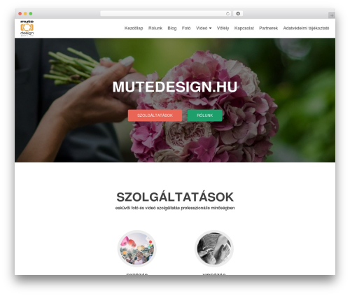 Zerif Lite template WordPress free - mutedesign.hu