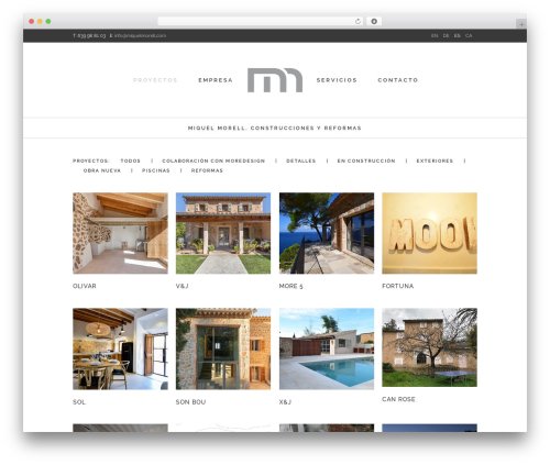 Best WordPress template Stockholm - miquelmorell.com