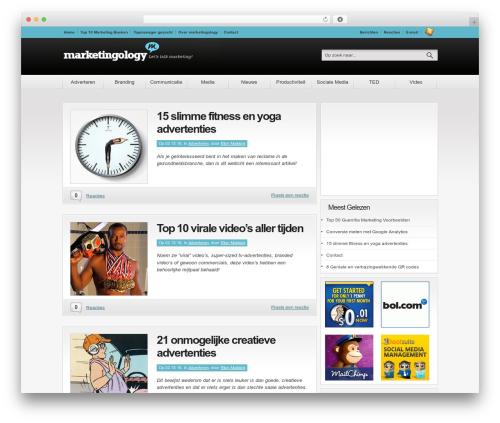 Convergence WP theme - marketingology.nl