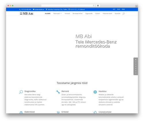 WordPress sitepress-multilingual-cms plugin - mbabi.ee