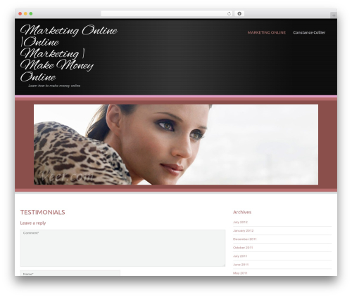 Encounters Lite WordPress ecommerce theme - marketingonlinewithconstance.com