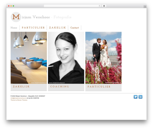 Gridly WordPress theme - mirjamverschoor.nl