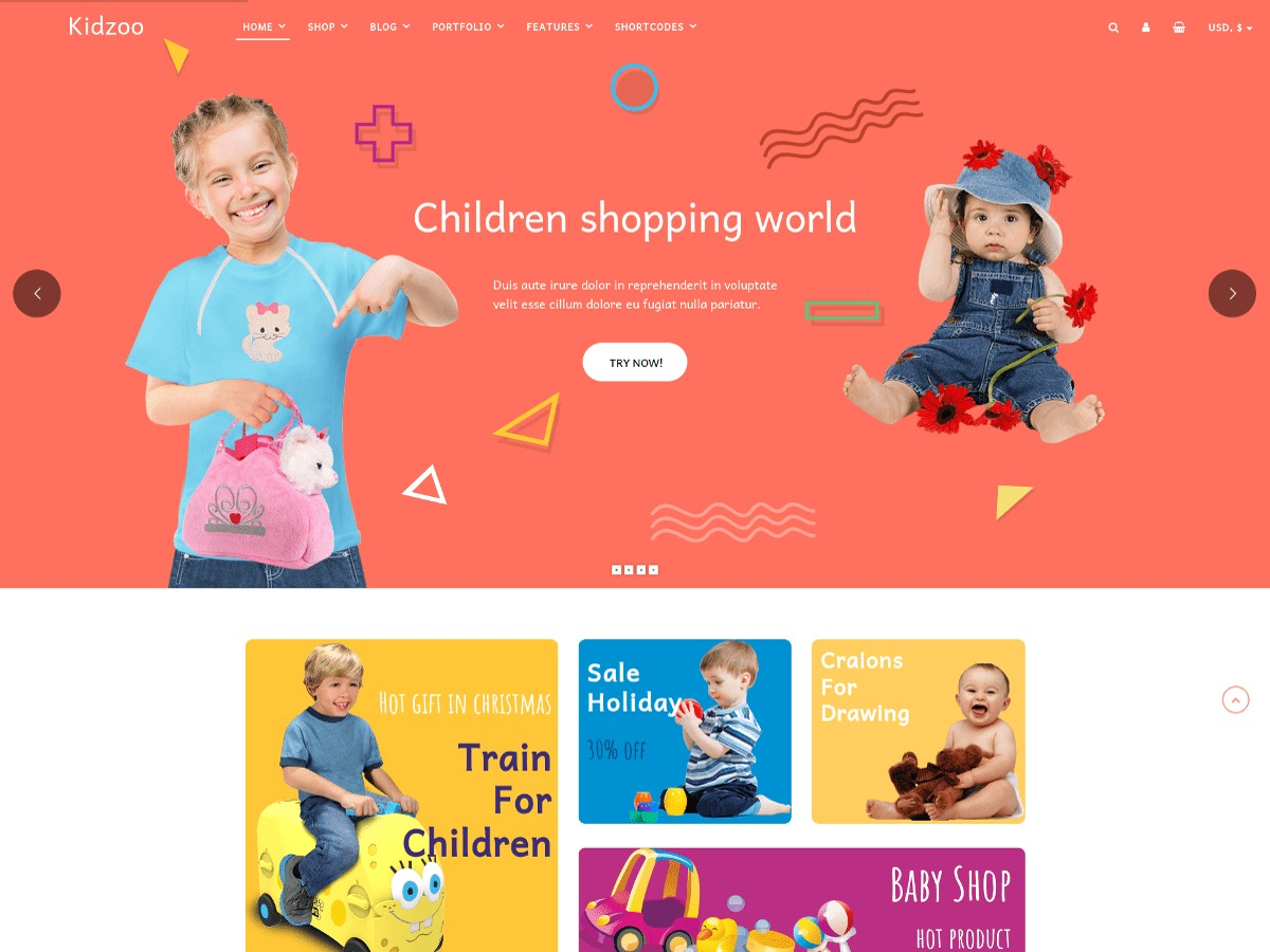 Kidzoo Lite best WooCommerce theme